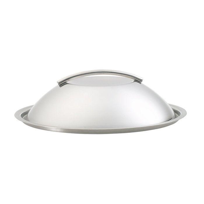 Крышка-купол стальная, 24 см