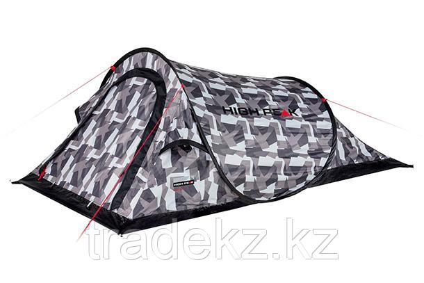 Палатка быстросборная HIGH PEAK CAMPO 2, цвет камуфляж, фото 2