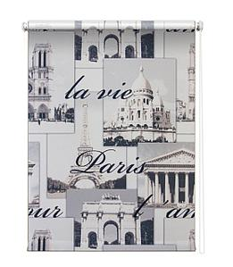 Рулонная штора «Париж», 60х175 см