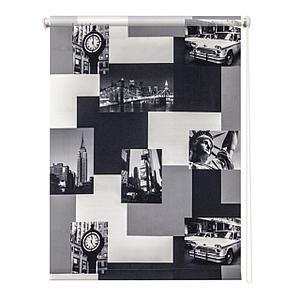 Рулонная штора «Нью-Йорк», 140х175 см
