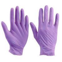 Перчатки S Ю 100шт нитрил фиолетовые Unex