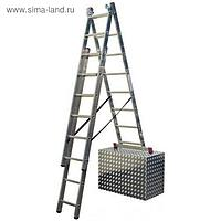 Универсальная лестница KRAUSE CORDA с доп. функцией 3х9
