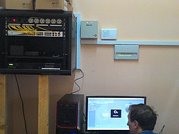 Система IP видеонаблюдения и автоматической пожарной сигнализации на заводе по производству порошка из кобыльего молока 3