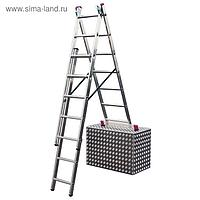 Универсальная лестница KRAUSE CORDA с доп. функцией 3х6