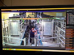 Система IP видеонаблюдения и автоматической пожарной сигнализации на заводе по производству порошка из кобыльего молока 5