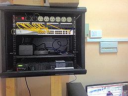 Система IP видеонаблюдения и автоматической пожарной сигнализации на заводе по производству порошка из кобыльего молока 9