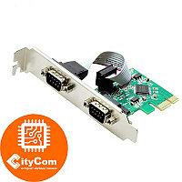 Контроллер Pci Express 1x (mini) to 2 x COM RS-232 Арт.1052