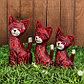"""Набор сувенирный """"Розовые кошечки""""(35,30,25) 25х12х35 см, фото 3"""
