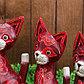 """Набор сувенирный """"Розовые кошечки""""(35,30,25) 25х12х35 см, фото 4"""