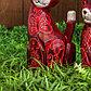 """Набор сувенирный """"Розовые кошечки""""(35,30,25) 25х12х35 см, фото 5"""