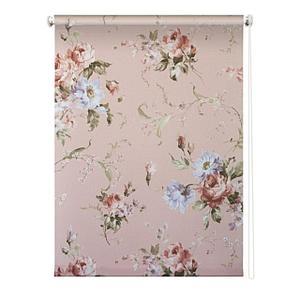 Рулонная штора «Розарий», 180х175 см, цвет розовый