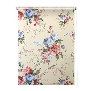 Рулонная штора «Розарий», 180х175 см, цвет бежевый