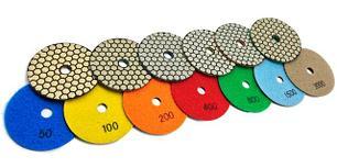 Гибкие алмазные шлифовальные круги (черепашки)