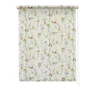 Рулонная штора «Парадиз», 100х175 см, цвет белый