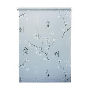 Рулонная штора «Япония», 100х175 см, цвет серый