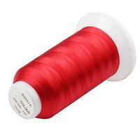 Нитки для швейной машины 65К, 1000 м, красные (комплект из 13 шт.)