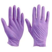 Перчатки XS Ю 100шт нитрил фиолетовые Unex