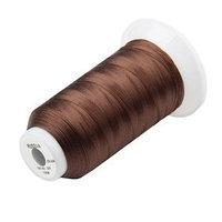 Нитки для швейной машины 50К, 1000 м, светло-коричневые (комплект из 16 шт.)