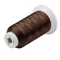 Нитки для швейной машины 50К, 1000 м, тёмно-коричневые (комплект из 16 шт.)