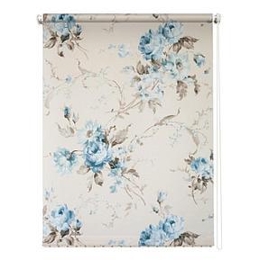 Рулонная штора «Розарий», 180х175 см, цвет белый