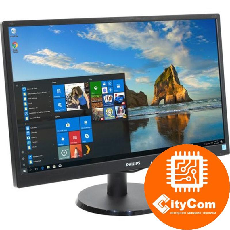 """LCD монитор 23,8"""" PHILIPS 240V5QDSB/01 IPS"""