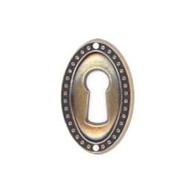 Ключевина *Louis XVI*, 22х35мм, латунь пат