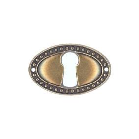 Ключевина *Louis XVI*, 35х22мм, латунь пат.