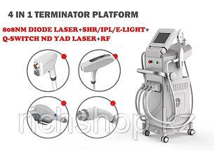 Аппарат 808 нм Диодный Лазер + Q-Switched ND: YAG Лазер