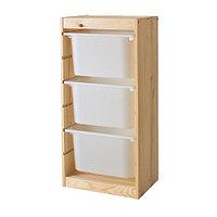 Стеллаж  д/хранения игрушек ТРУФАСТ белый сосна ИКЕА, IKEA, фото 1