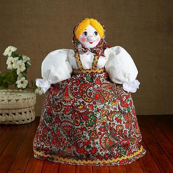 Грелка на чайник «Кукла Дуняша», 35 см,
