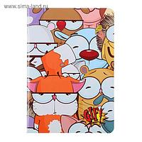 """Тетрадь 48 листов в точку """"Мульт"""", обложка мелованный картон, твин-лак, блок офсет 70 г/м2"""