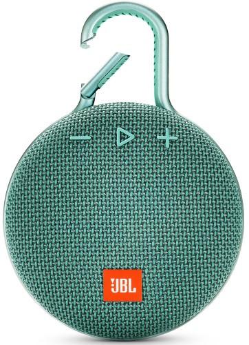 Портативная акустическая система  JBL CLIP 3 бирюзовая