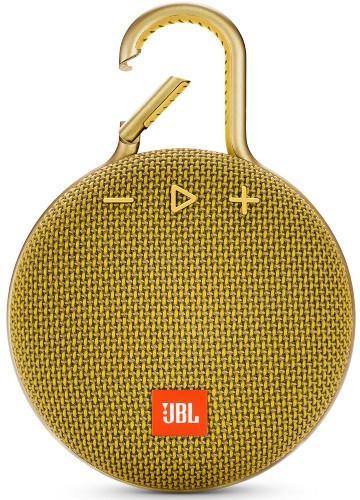 Портативная акустическая система  JBL CLIP 3 желтый