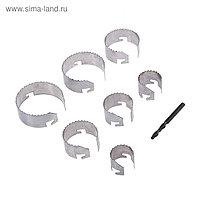 Набор коронок Top Tools, с центрирующим сверлом, 26-63 x 20 мм, 7 шт.
