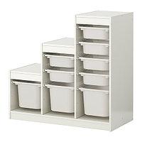 Стеллаж д/хранения игрушек ТРУФАСТ белый ИКЕА, IKEA