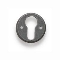 Ключевина п/европ. цилиндр, D43мм, компл 2 шт + винты, сталь лакир.