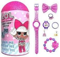 LOL 354027 Набор украшений с часами для девочки