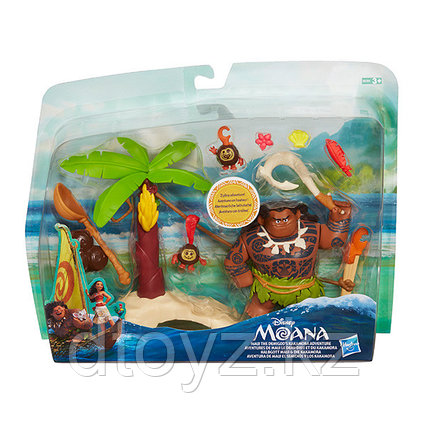 Игровой набор - Мауи встречает Какамора на острове B8302