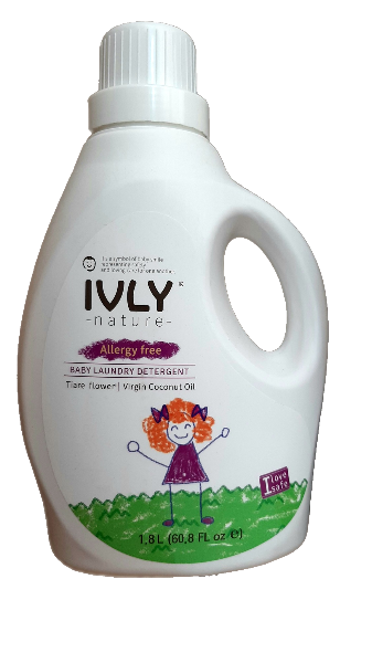 IVLY Nature Гипоаллергенное средство для стирки детской одежды Цветок Тиары и Кокос 1800 мл.