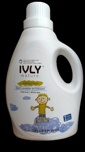 IVLY Nature Гипоаллегенное средство для стирки детской одежды Овсянка и Белый Чай 1800 мл.