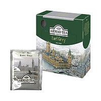 Earl Grey Чай черный Ahmad Tea, пакетированный, 100 шт