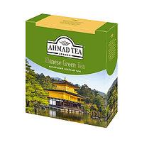 Чай зеленый Ahmad Tea, китайский, пакетированный, 100 шт