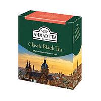 Чай черный Ahmad Tea классический, листовой, пакетированный, 100 шт