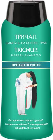Шампунь для волос против перхоти на основе трав