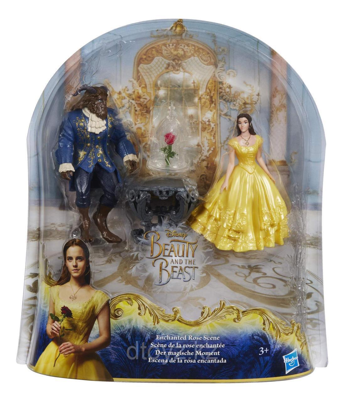 Disney Beauty & The Beast Набор фигурок Заколдованная роза B9169