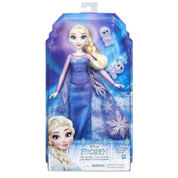 Hasbro Disney Princess B9199 Кукла Холодное Сердце Северное сияние