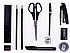 """Настольный набор OfficeSpace """"Минидеск"""", 10 предметов, вращающийся черный, фото 2"""