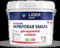 """Акриловая эмаль """"LIDER color"""" 1кг"""
