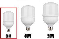 Светодиодная (LED) лампа 30W 6400K / 2400 дь /E27 для съёмки