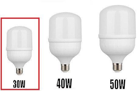 Светодиодная (LED) лампа 30W 6400K E27 для съёмки, фото 2